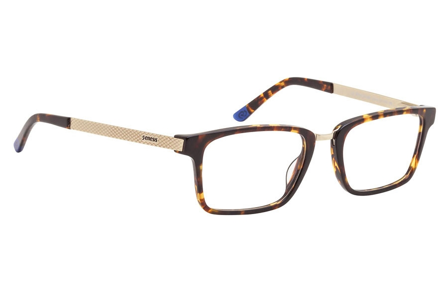 Genesis Easy GV 1462 Eyeglasses in 04 Brown/Beige/Violet