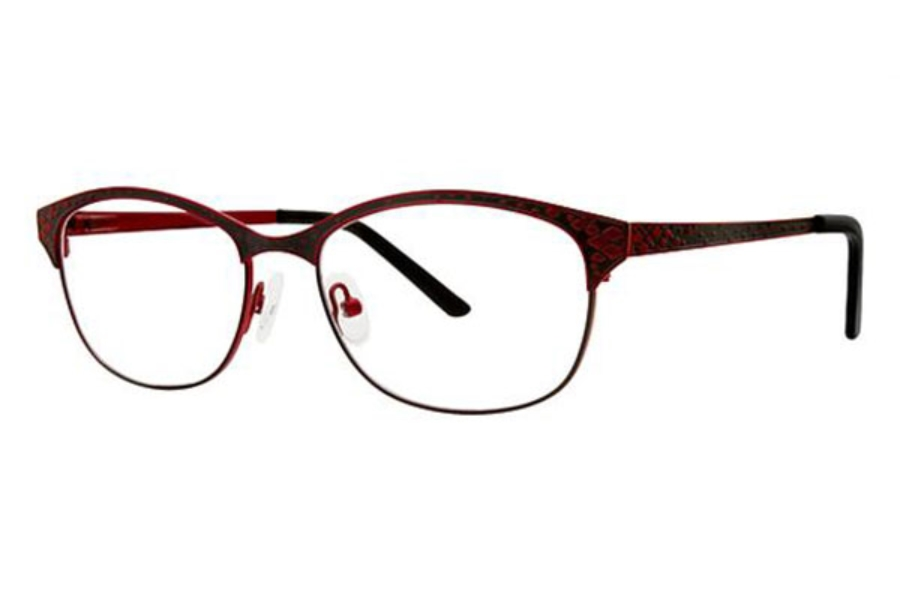 Genevieve Boutique Chloe Eyeglasses in Matte Red