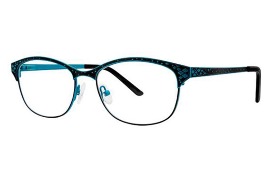 Genevieve Boutique Chloe Eyeglasses in Matte Teal