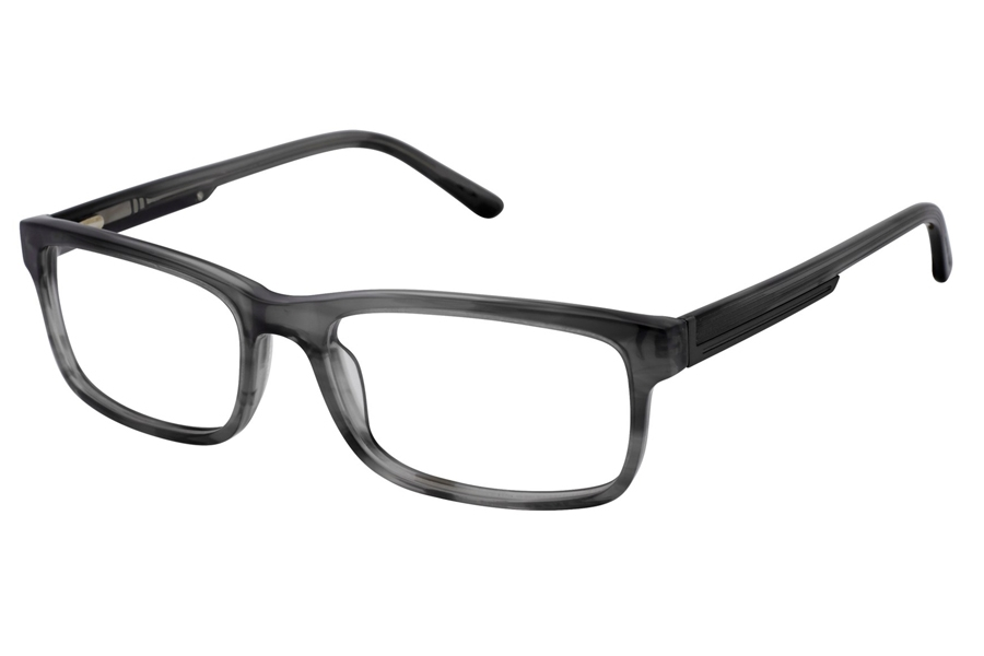 Geoffrey Beene G523 Eyeglasses in GRY Grey