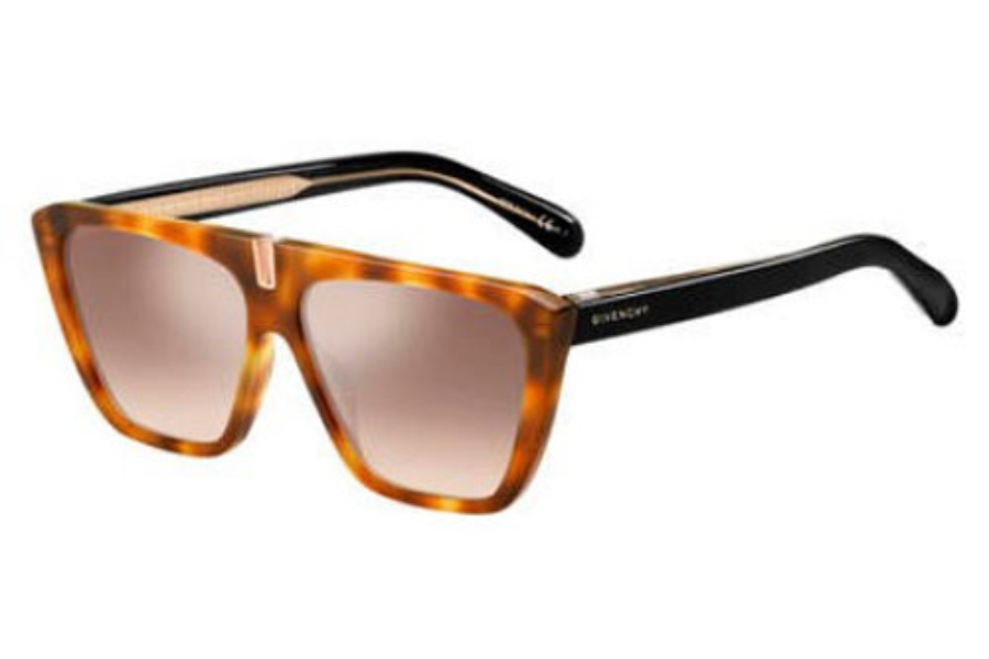 GIVENCHY Gv 7109/S Sunglasses in 0L9G Havana Orange (G4 brown mirror gradient lens)
