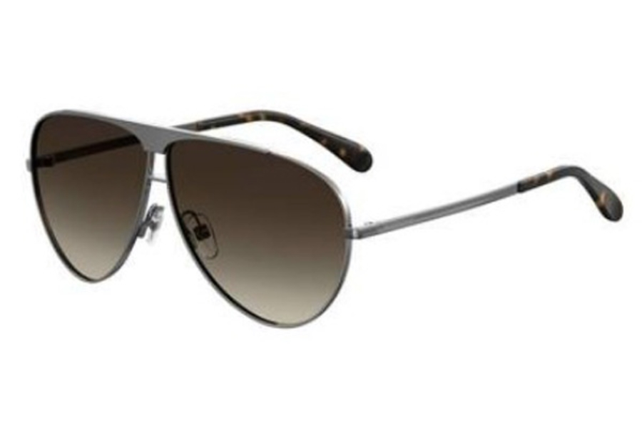 GIVENCHY Gv 7128/S Sunglasses in 06LB Ruthenium (HA brown gradient lens)