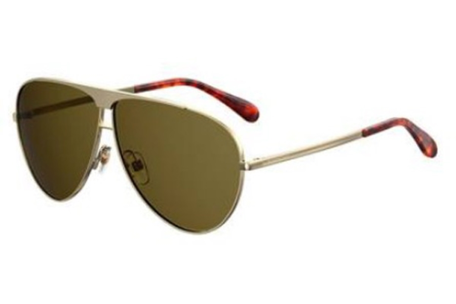 GIVENCHY Gv 7128/S Sunglasses in 0PEF Gold Green (QT green lens)