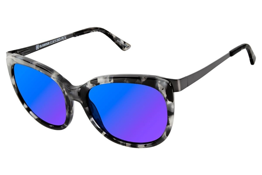 Glamour Editors Pick GL2010 Sunglasses in C01 Black / Marble
