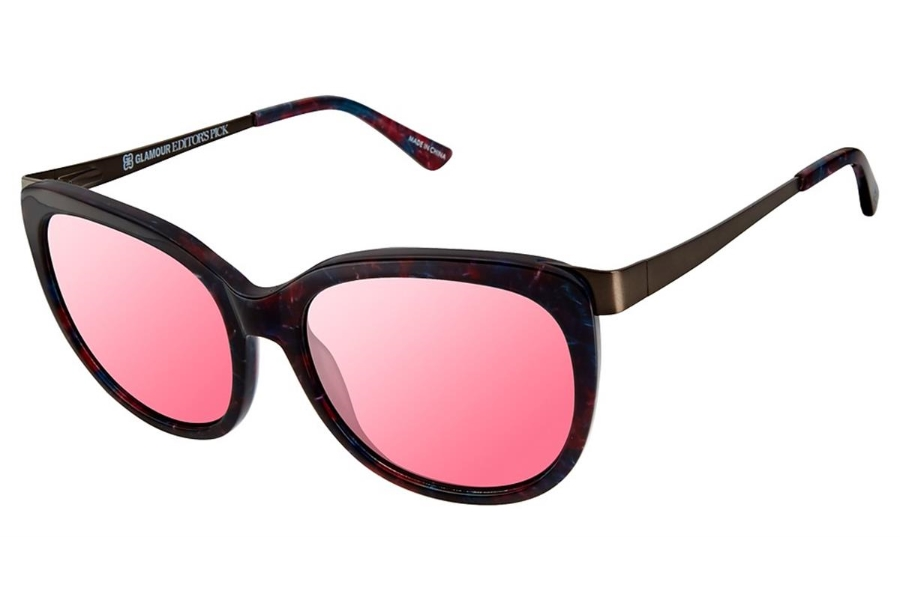 Glamour Editors Pick GL2010 Sunglasses in C03 Berry Marble