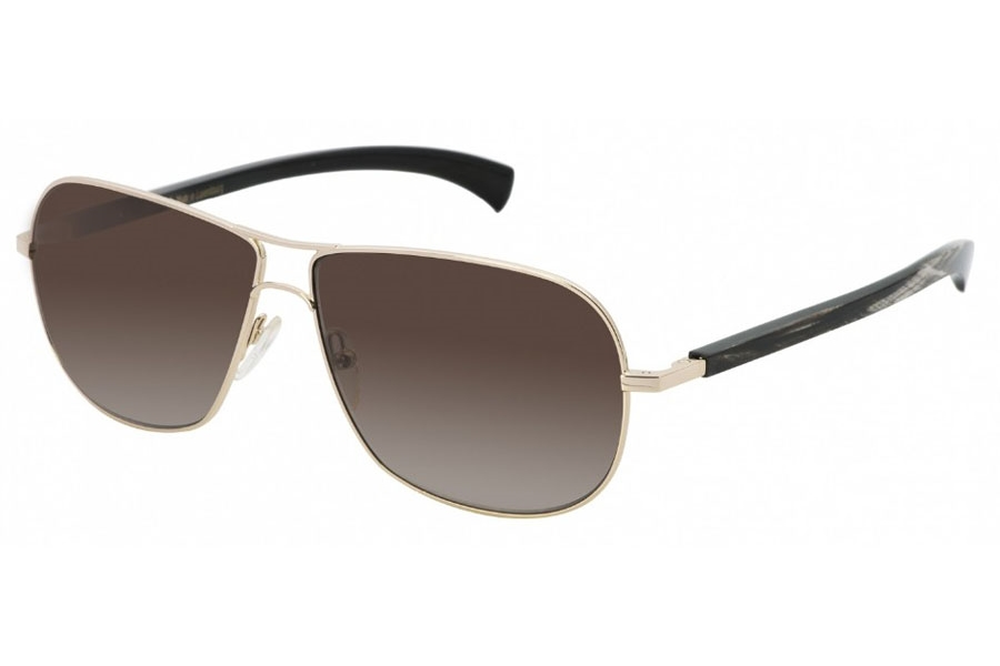 Gold & Wood Spica 01 Sunglasses in Gold & Wood Spica 01 Sunglasses