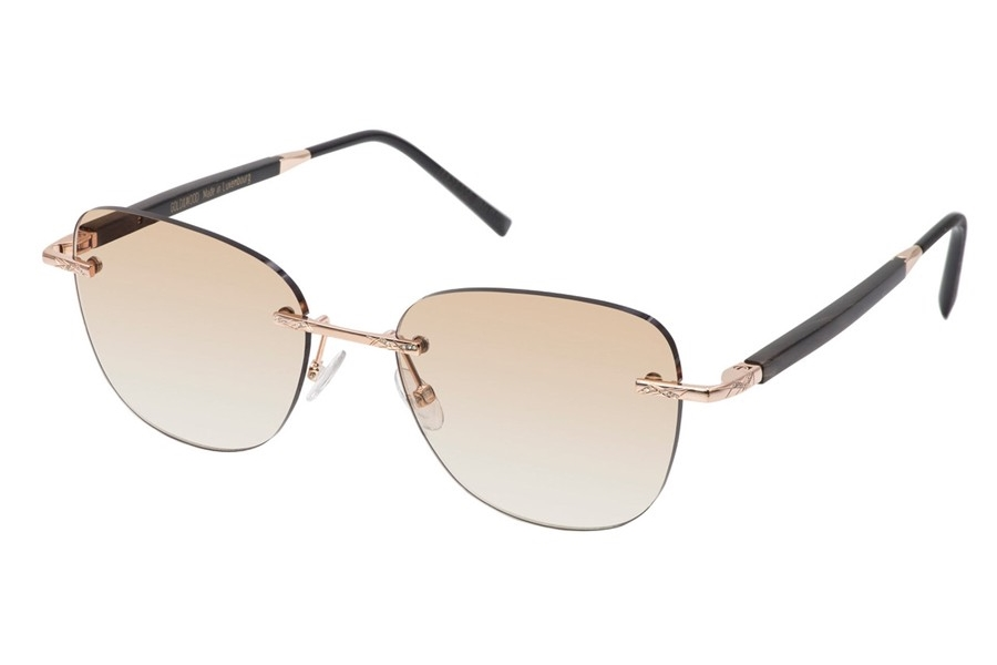 Gold & Wood Duchesse 11.D.11.03.CM24 Sunglasses in Gold & Wood Duchesse 11.D.11.03.CM24 Sunglasses
