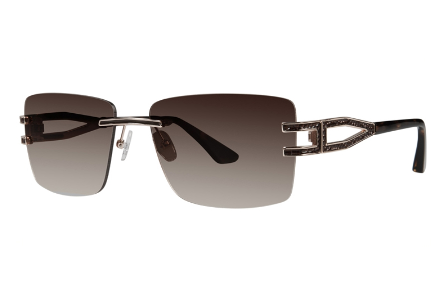 Goliath Goliath XII Sunglasses in Brown w/ Brown Leather & Brown Lens