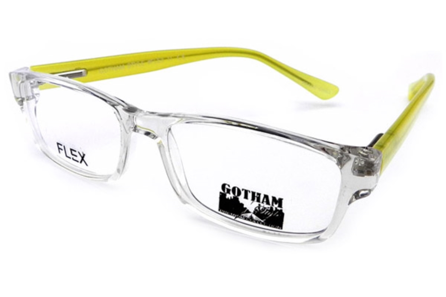 Gothamstyle Gotham Premium Flex 11 Eyeglasses in Crystal Yellow