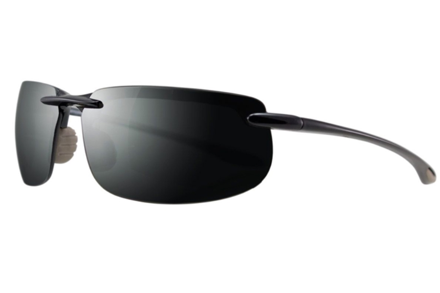 Greg Norman G4212 Sunglasses in 095 - Black