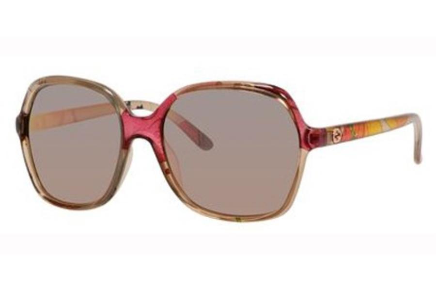 c6058c717 Gucci 3632/N/S Sunglasses in 0Z9X Beige Floral (0J gray rose gold ...