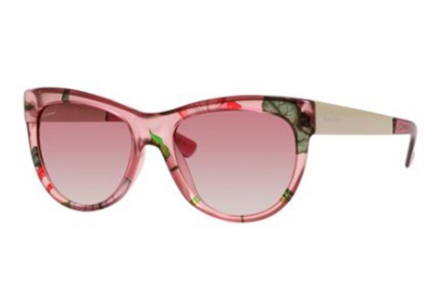 4398e7b07 Gucci 3739/S Sunglasses in 02F6 Pink Floral Gold (16 pink gradient lens) ...