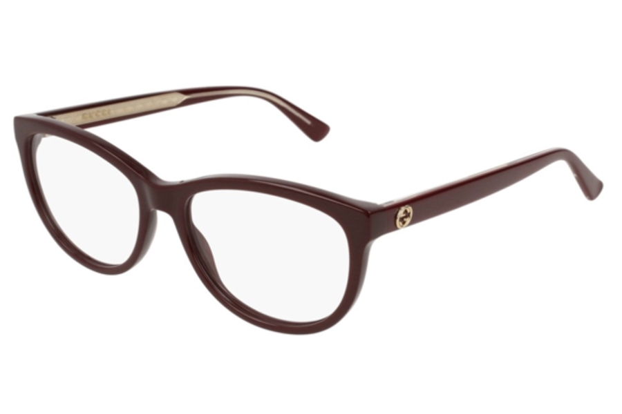 Gucci GG0310O Eyeglasses in 003 Burgundy