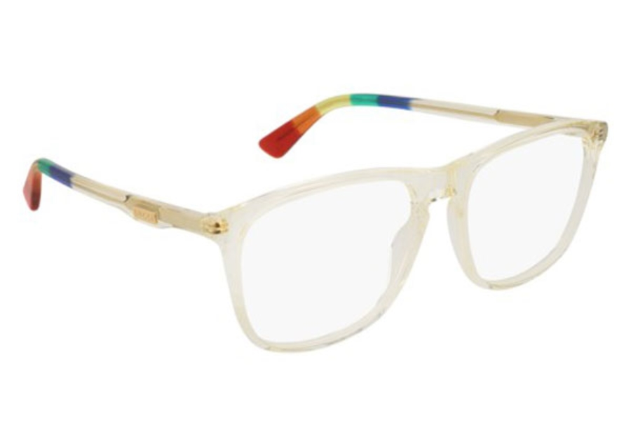 Gucci GG0332O Eyeglasses in 008 Yellow