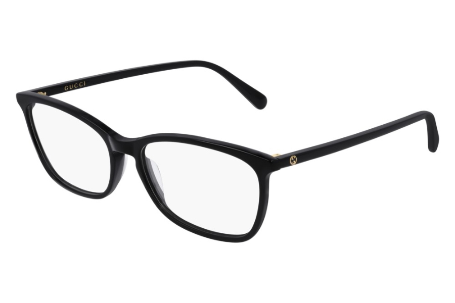 Gucci GG0548O Eyeglasses in 005 Black (55 Eye Size Available)