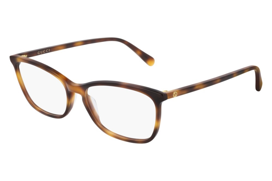 Gucci GG0548O Eyeglasses in 006 Havana (55 Eye Size Available)
