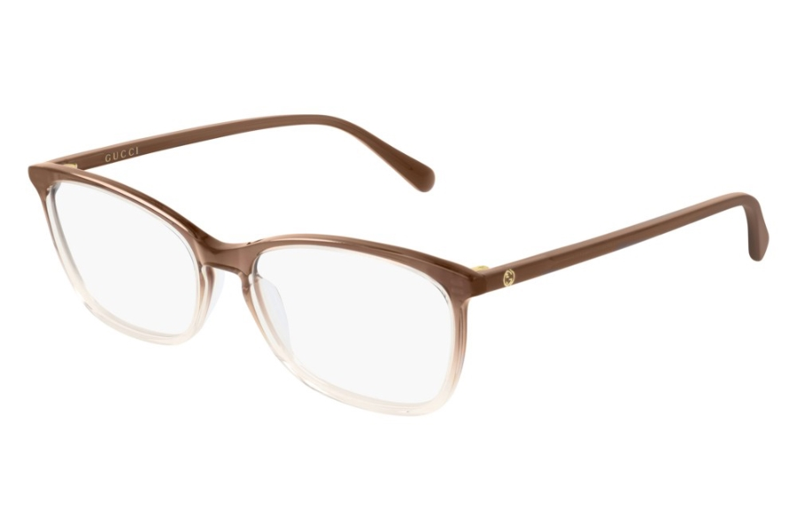 Gucci GG0548O Eyeglasses in 007 Brown (55 Eye Size Available)