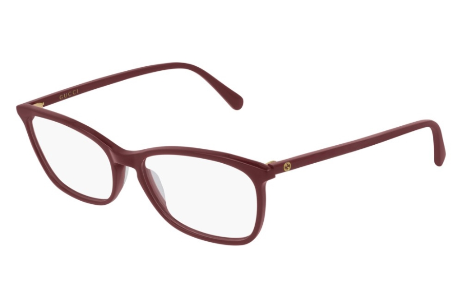 Gucci GG0548O Eyeglasses in 008 Burgundy (55 Eye Size Available)