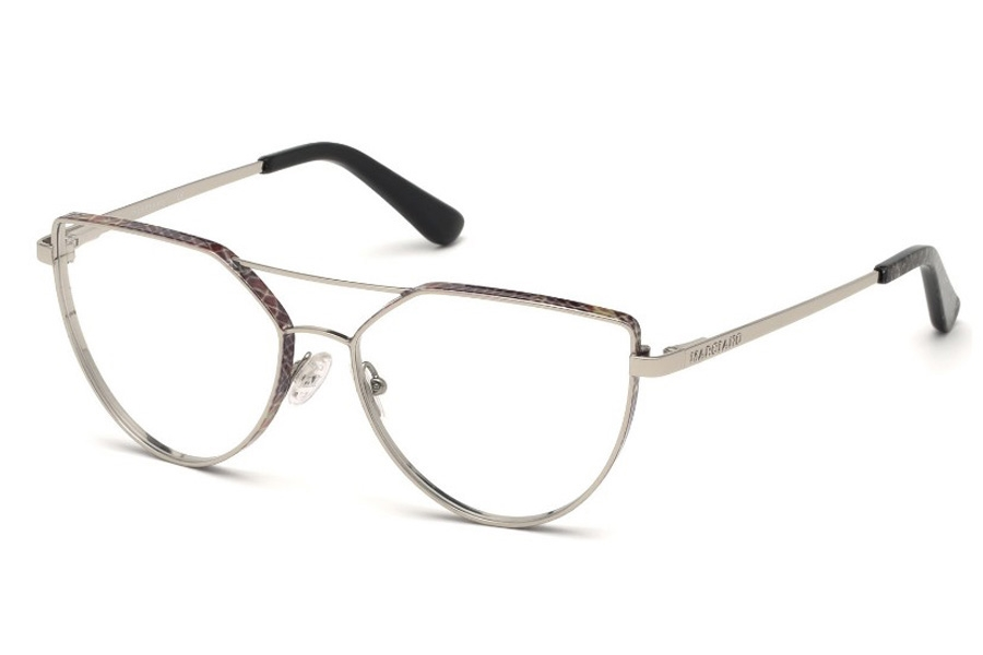 Guess by Marciano GM 346 Eyeglasses in 010 - Shiny Light Nickeltin