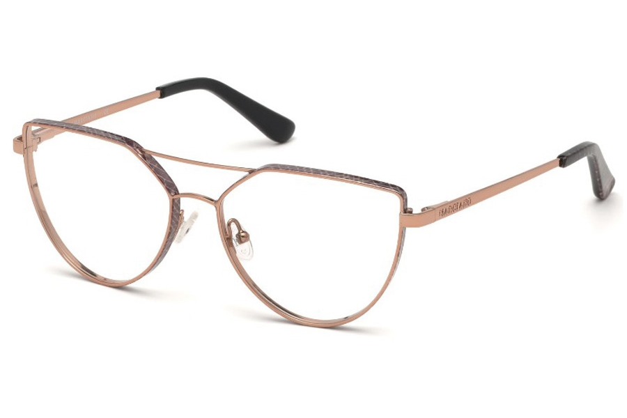 Guess by Marciano GM 346 Eyeglasses in 028 - Shiny Rose Gold