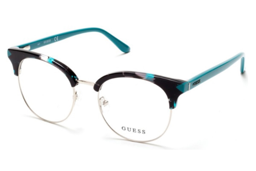 Guess GU 2671 Eyeglasses in 089 - Turquoise/Other
