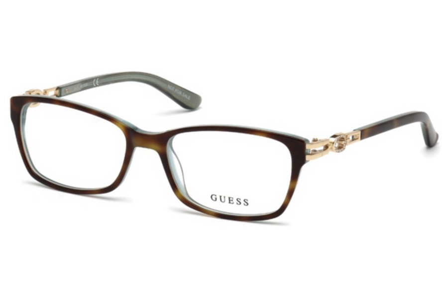 Guess GU 2677 Eyeglasses in 055 - Coloured Havana