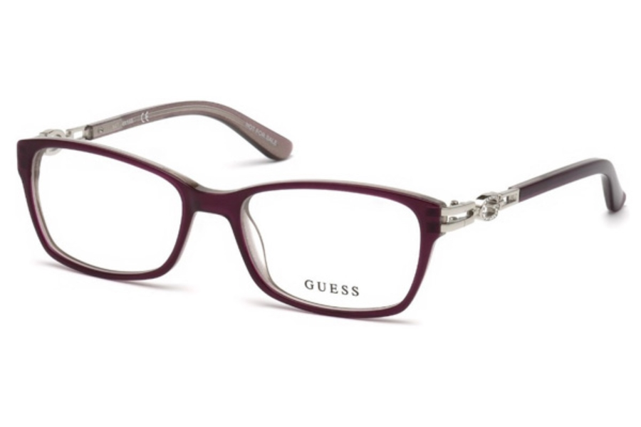 Guess GU 2677 Eyeglasses in 083 - Violet/Other