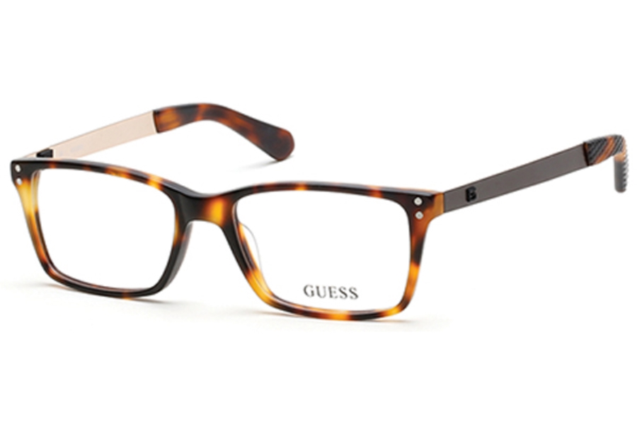 Guess GU 1869 Eyeglasses in 052 - Dark Havana