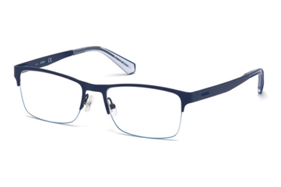 Guess GU 1936 Eyeglasses in 091 - Matte Blue