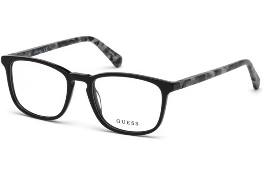 Guess GU 1950 Eyeglasses in 001 - Shiny Black
