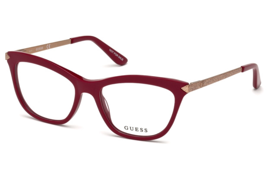 Guess GU 2655 Eyeglasses in 072 - Shiny Pink
