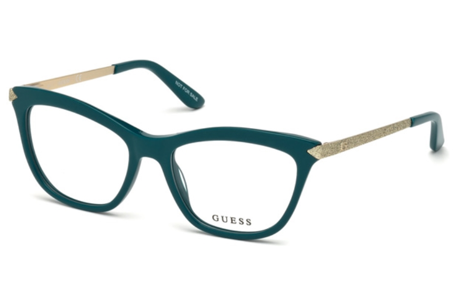 Guess GU 2655 Eyeglasses in 084 - Shiny Light Blue