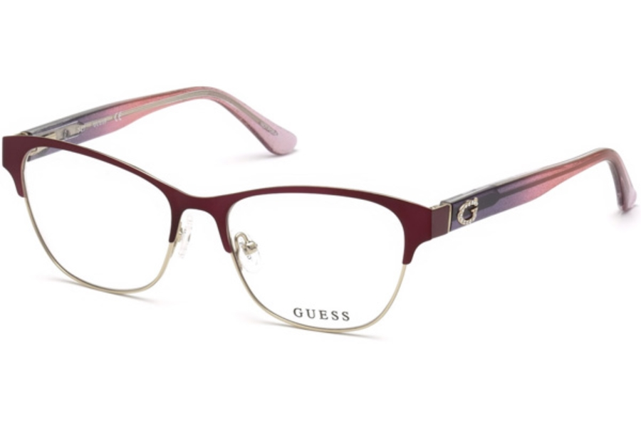 Guess GU 2679 Eyeglasses in 082 - Matte Violet