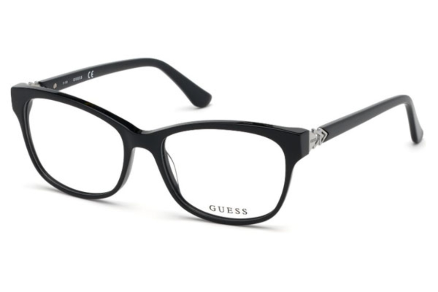 Guess GU 2696-F Eyeglasses in 001 - Shiny Black