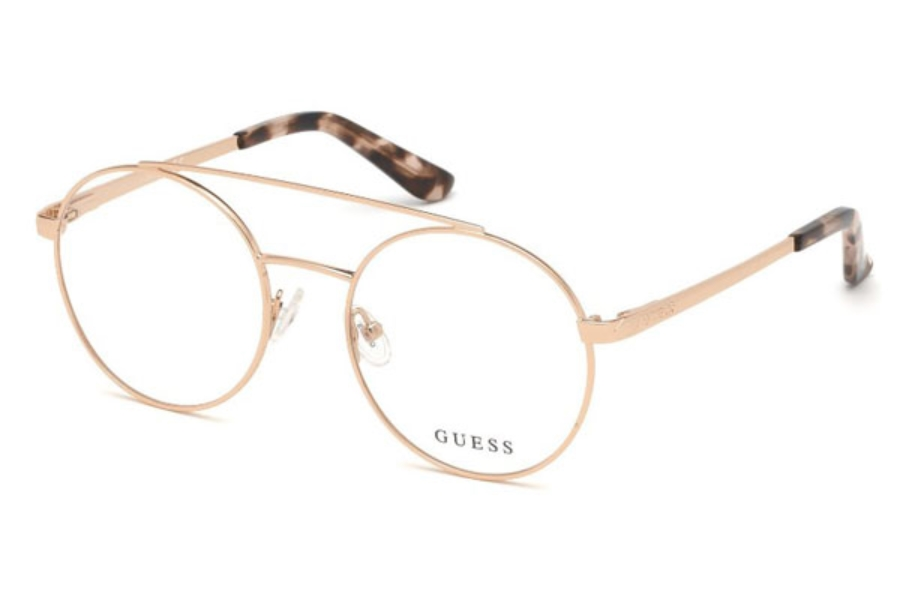 Guess GU 2714 Eyeglasses in 028 - Shiny Rose Gold