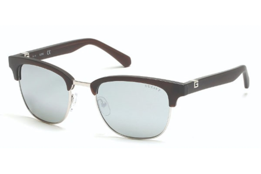 Guess GU 6895 Sunglasses in 20D - Grey/Other / Smoke Polarized