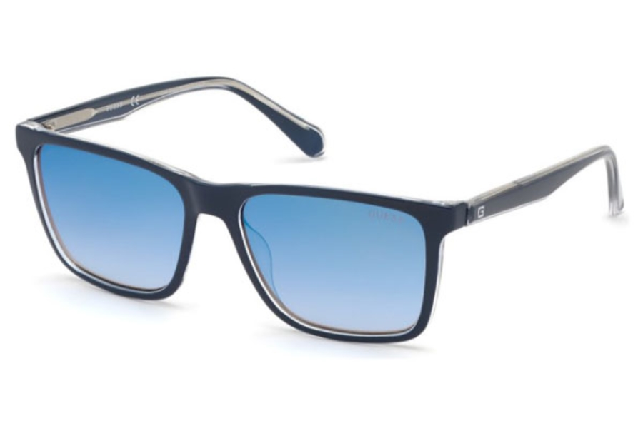 Guess GU 6935 Sunglasses in 92W - Blue/other / Gradient Blue