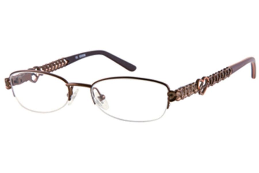 Guess GU 9050 Eyeglasses in BRN SATIN BROWN