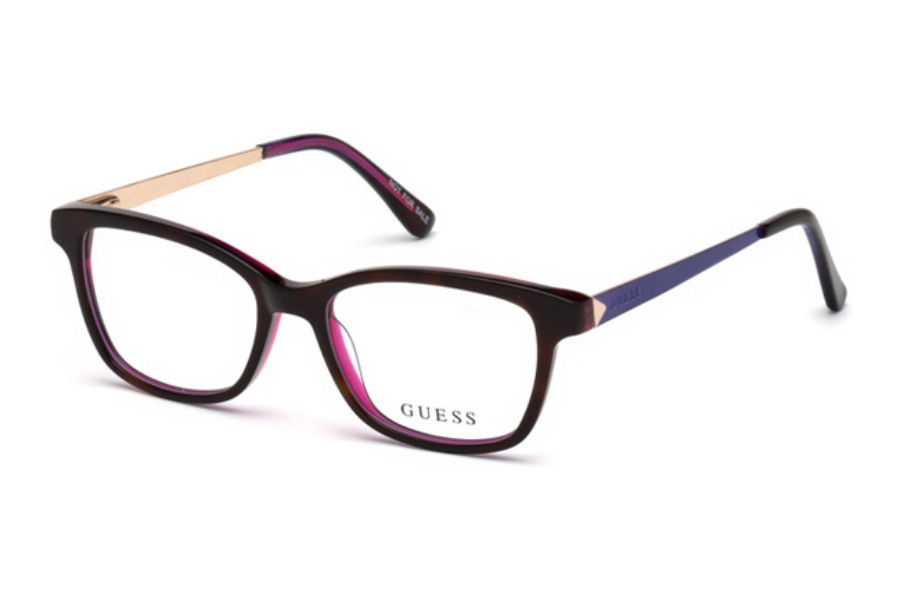 Guess GU 9177 Eyeglasses in 052 - Dark Havana