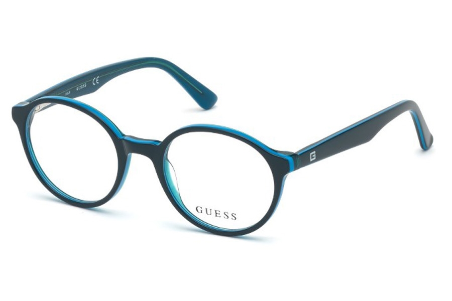 Guess GU 9183 Eyeglasses in 092 - Blue/other