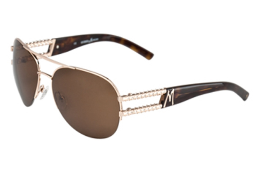 Guess by Marciano GM 611 Sunglasses in GLD-1 SHINY GOLD