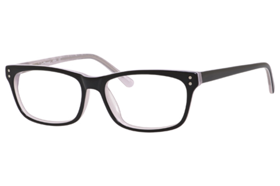 Ernest Hemingway H4684 Eyeglasses in Black/White