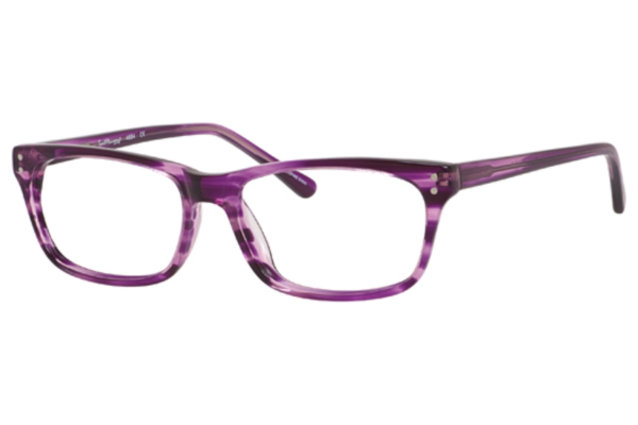 Ernest Hemingway H4684 Eyeglasses in Purple