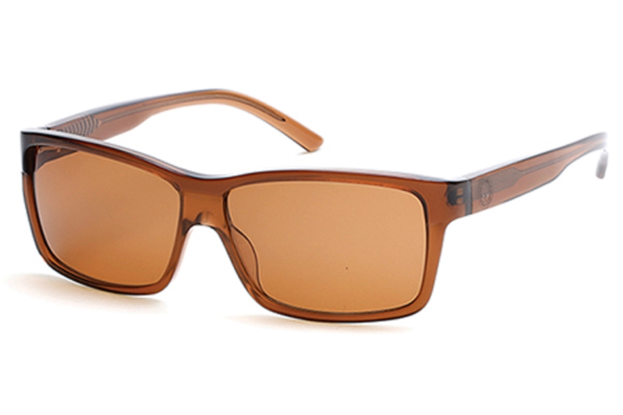 Harley-Davidson HD0907X Sunglasses in 50E Dark Brown/Other / Brown