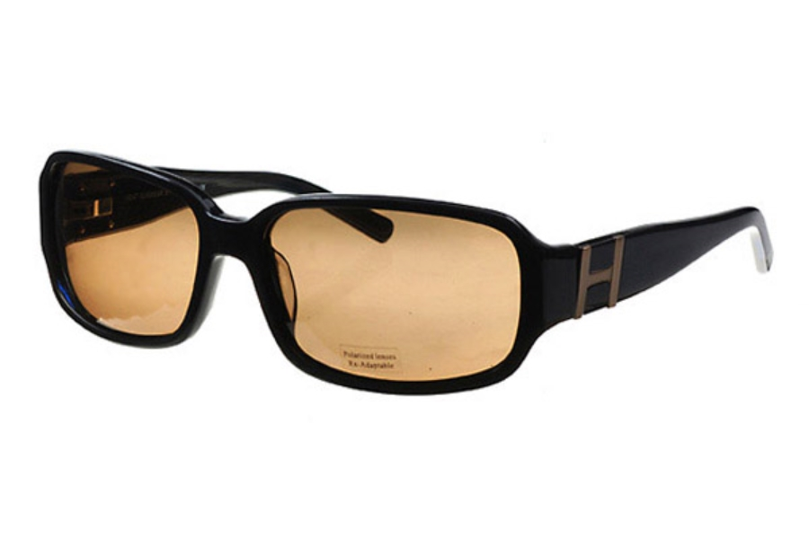 Heat HS0204 Sunglasses in Brown w/ Lenses
