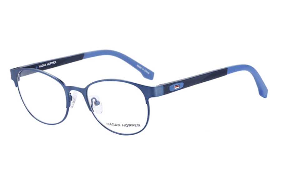 Hagan Hopper H6025 Eyeglasses in C3- Blue/Blk