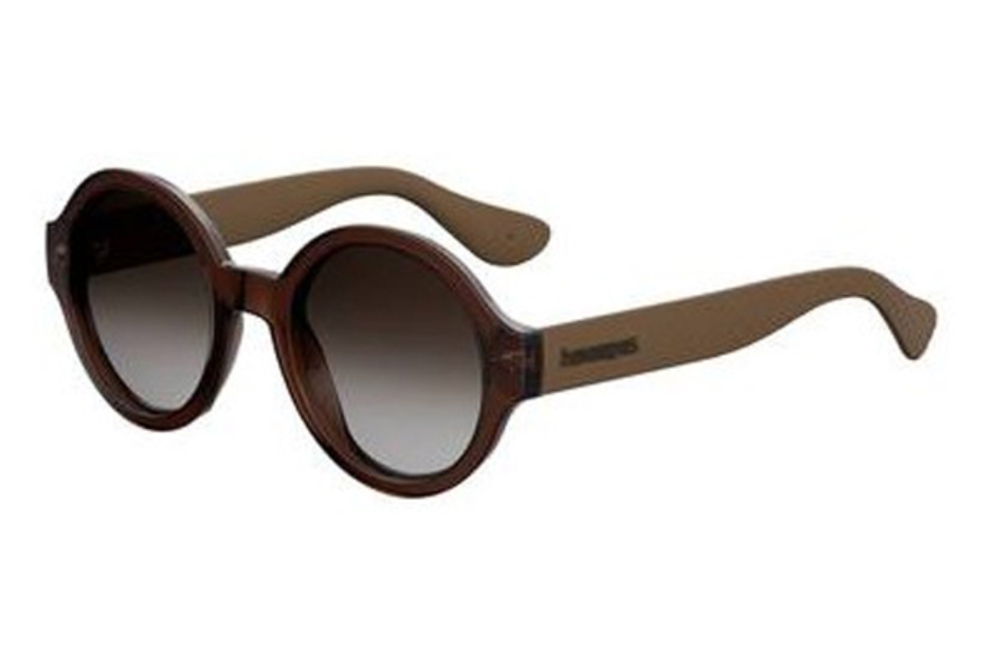 Havaianas Floripa/M Sunglasses in 009Q Brown (HA brown gradient lens)