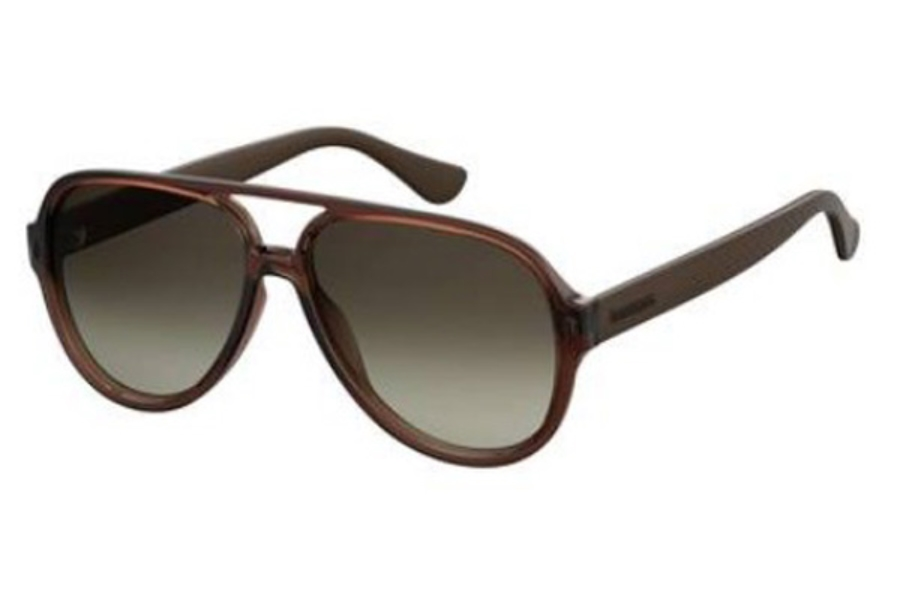 Havaianas Leblon Sunglasses in 0QGL Brown (HA brown gradient lens)