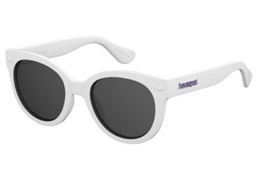 Havaianas Noronha/S Sunglasses in 0XED White Rubber (Y1 gray lens)
