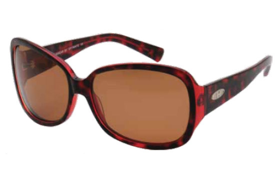 Heat HS0217 Sunglasses in DBRN DARK BROWN